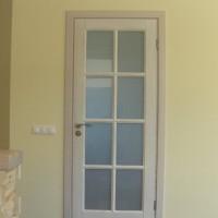 Blatos durys su stiklu