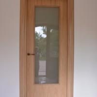 Vidaus durys su stiklu