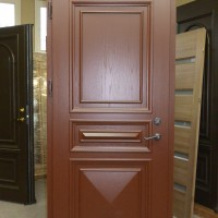Rudos durys