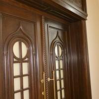 Rudos unikalios durys