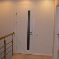 Baltos vidaus durys