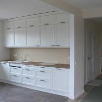 Baltas virtuvinis komplektas