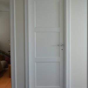 Priešgaisrines baltos durys
